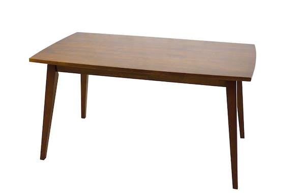 Table repas rectangulaire hévéa 140x80cm SIXTIES