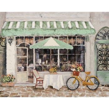 Tableau de rue et salon de thé