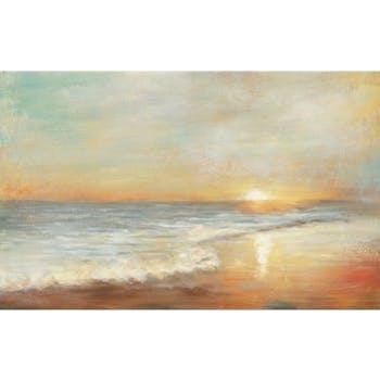 Tableau Paysage abstrait 70x140 Peinture acrylique