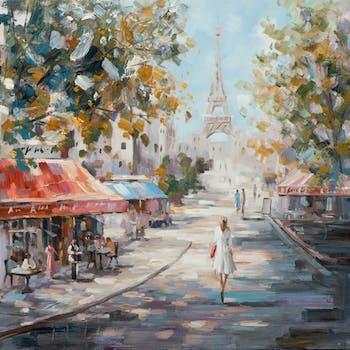 Tableau rue de Paris