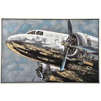 Tableau vintage avion