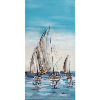 Tableau voiliers en mer
