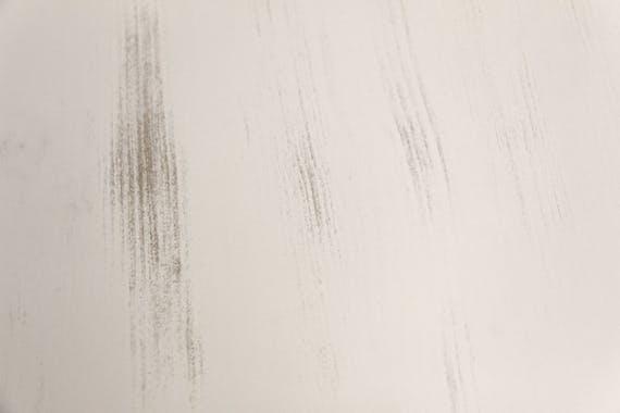 Tabouret pin cérusé blanc RIVAGE