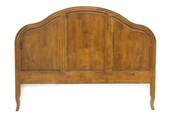 Tête de lit bois hévéa massif 154 cm TRADITION