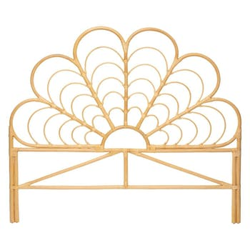 Tête de lit en rotin 160x140 GÊNES