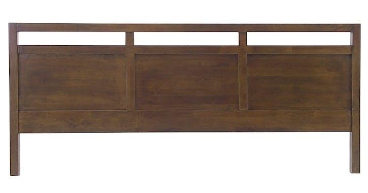 Tête de lit Hévéa pour lit 2 places 206x4,5x80cm HELENA