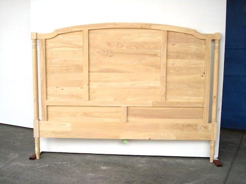 Tête de lit Hévéa pour lit couchage 140 152x5x130cm TRADITION