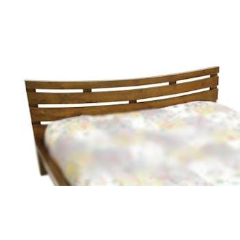 Tête de lit incurvée Hévéa pour lit couchage 180 195x80cm NIAGARA