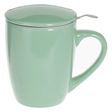 Tisanière vert menthe
