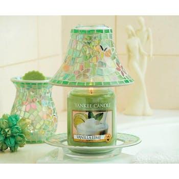 Vanille Citron Vert bougie parfumée moyenne jarre YANKEE CANDLE