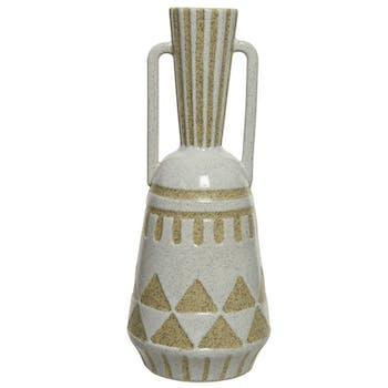 Vase forme amphore en porcelaine 29 cm