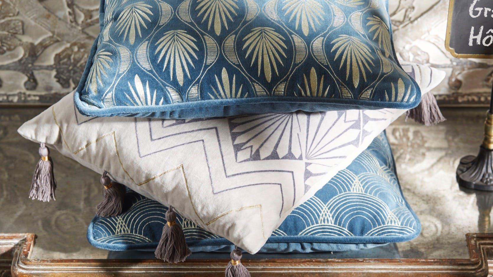 Coussins de canapé, coussins décoratifs : rond, carré...