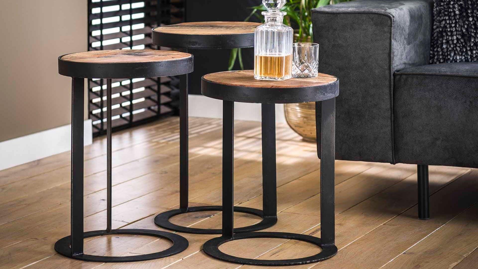 Tables d'appoint - Sellettes : bois, métal...