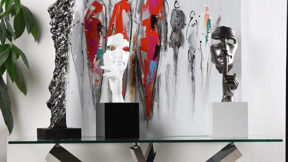 Figurines - Statues - Statuettes : Bouddhas, décorations abstraites...