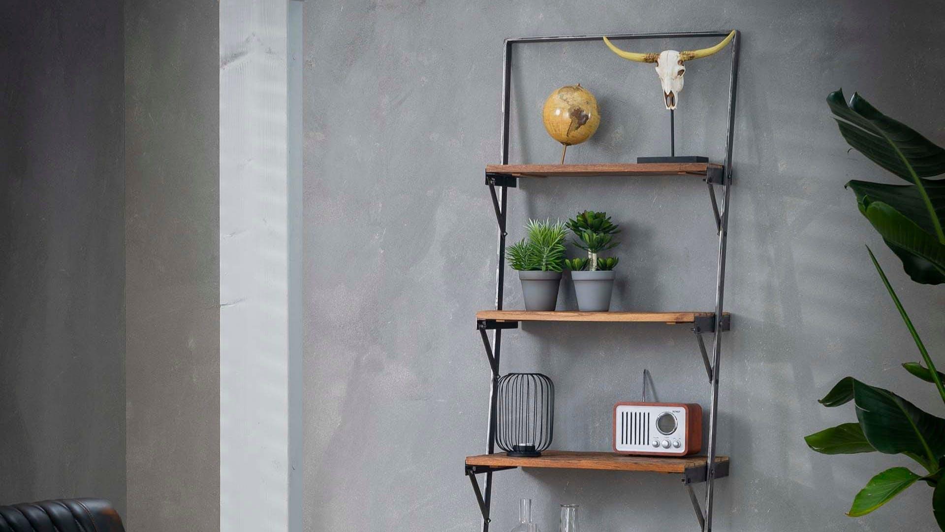 Etagères murales en bois recyclé : verticales, horizontales...