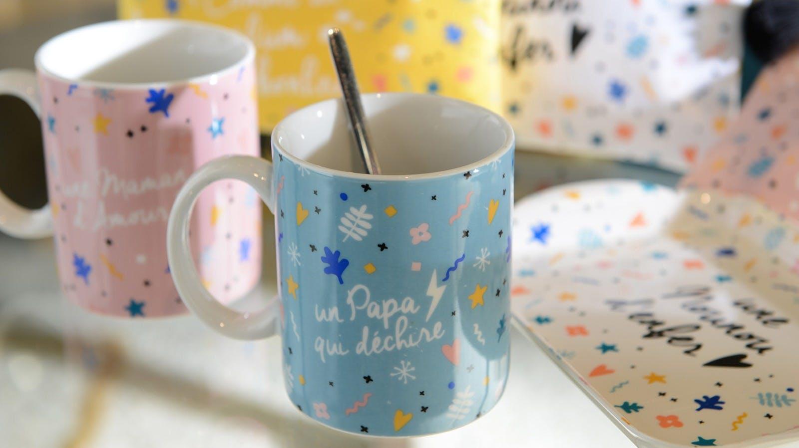Bols, Mugs, Tasses : porcelaine, céramique...