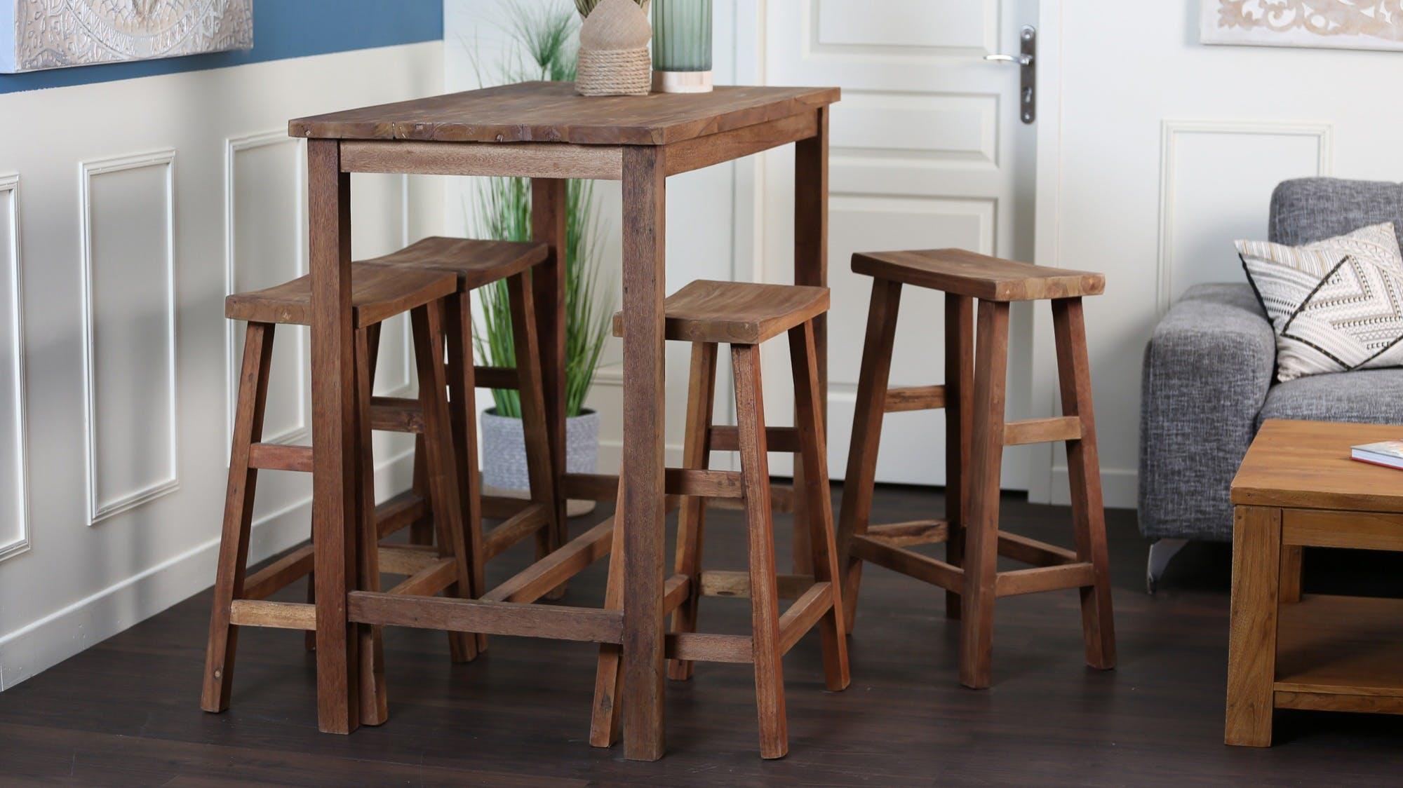 Tables hautes - Mange debout : bois, métal...