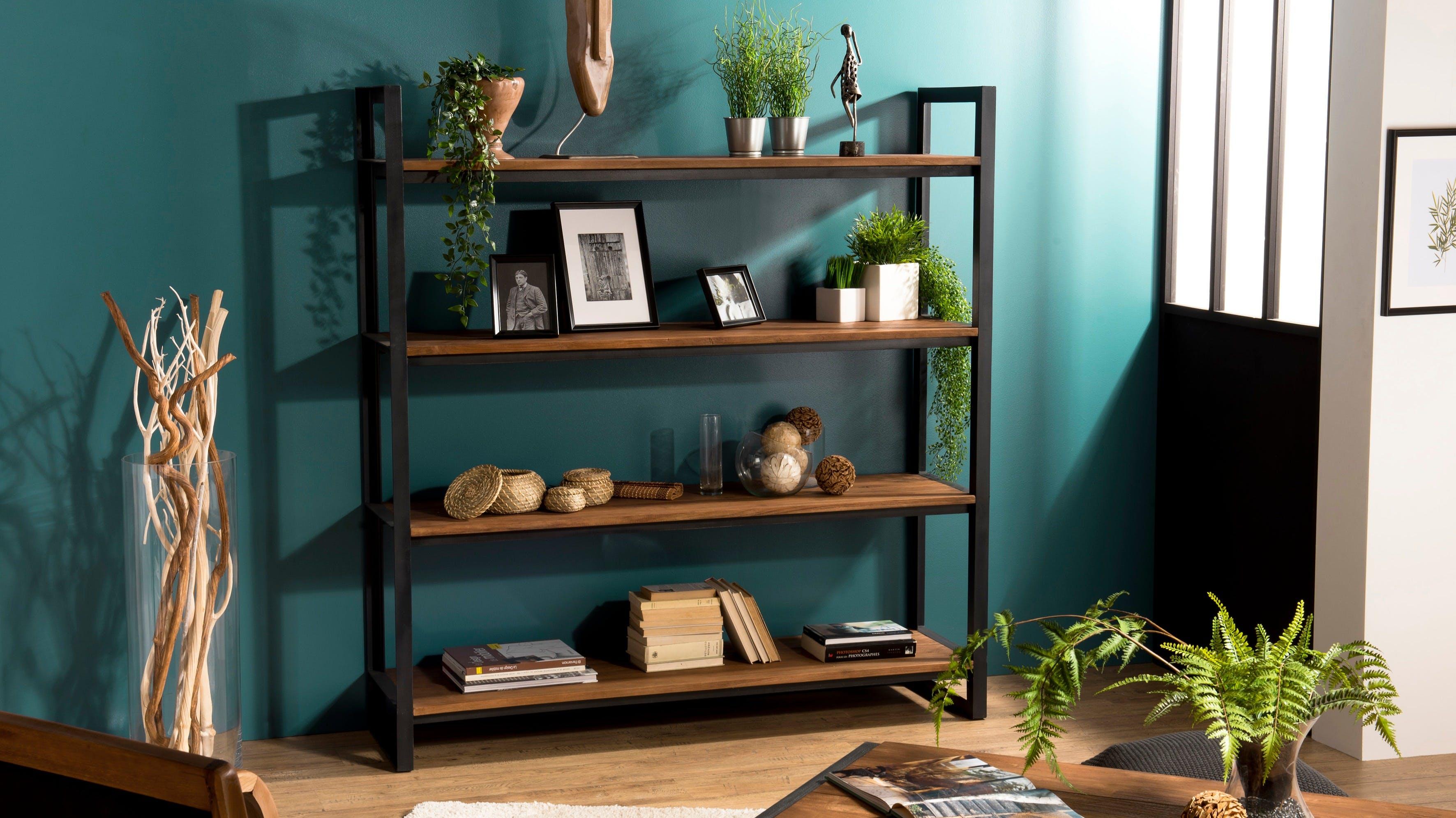 Étagères en bois recyclé : avec tiroirs, avec niches...