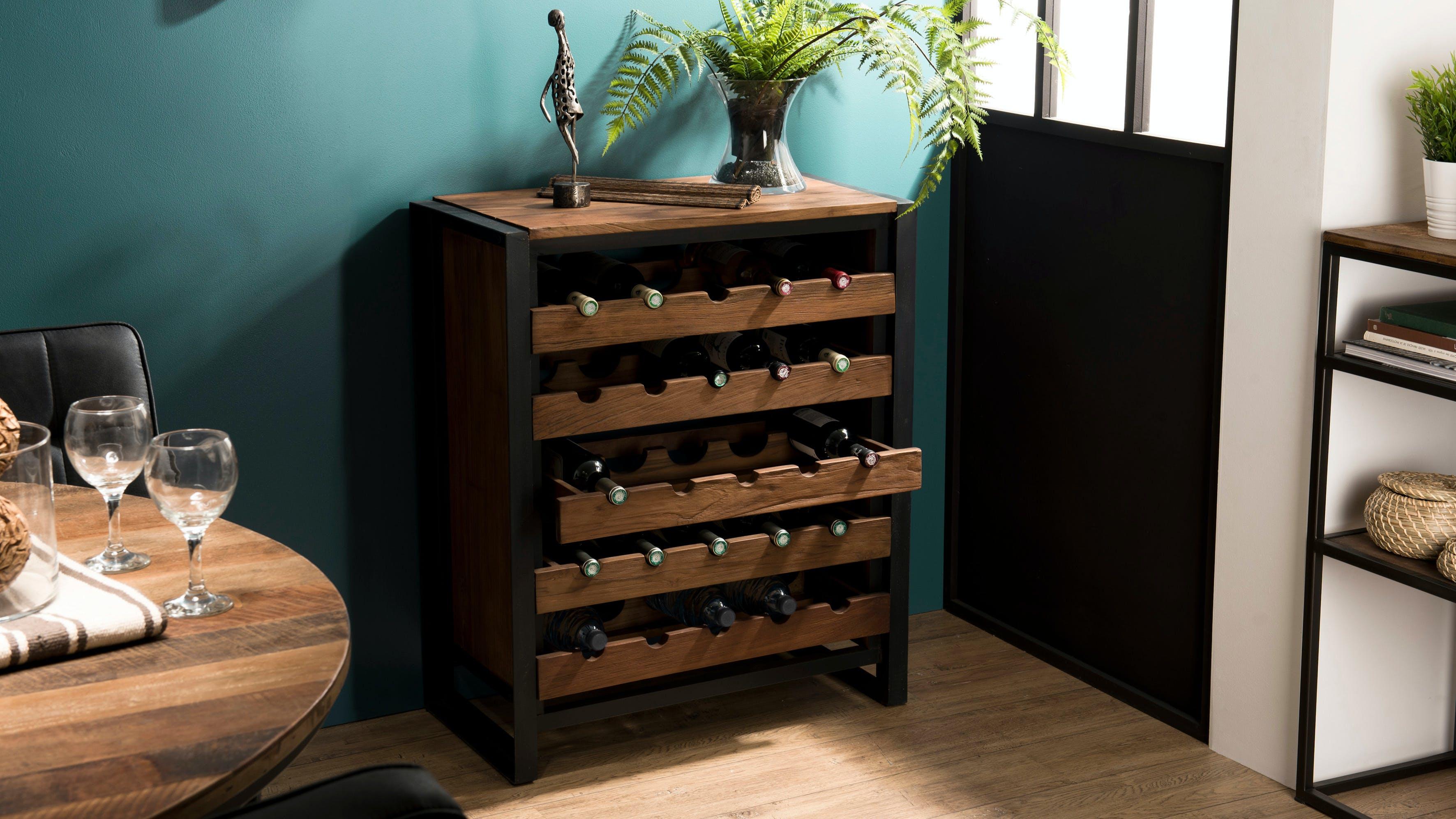 Meubles de bar en bois recyclé : vintage, industriel...