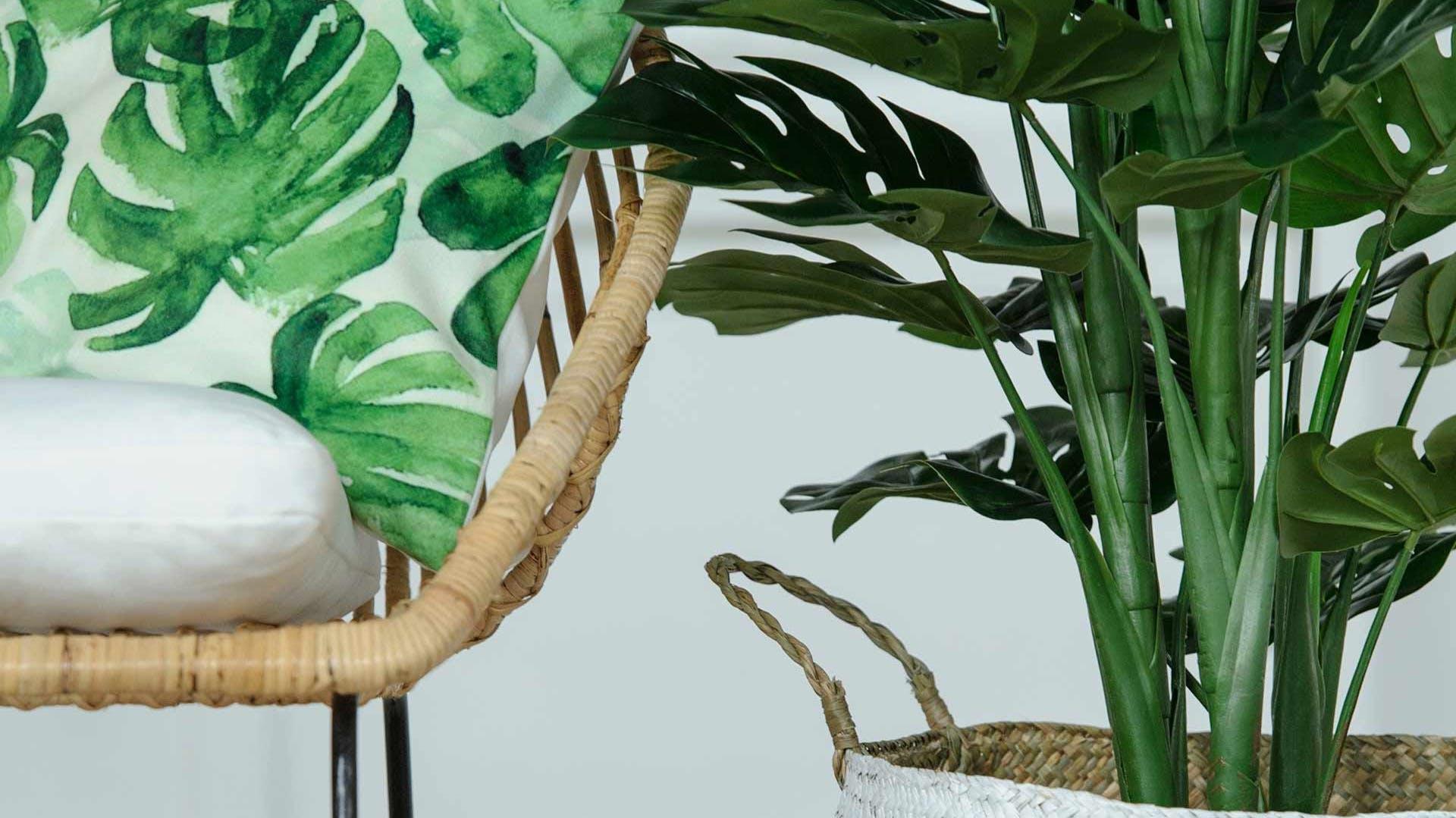 Fleurs artificielles - Plantes artificielles : bambou, bananier...