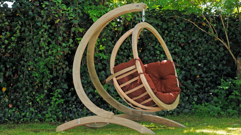 Fauteuils suspendus et hamacs suspendus : en bois, en tissu...