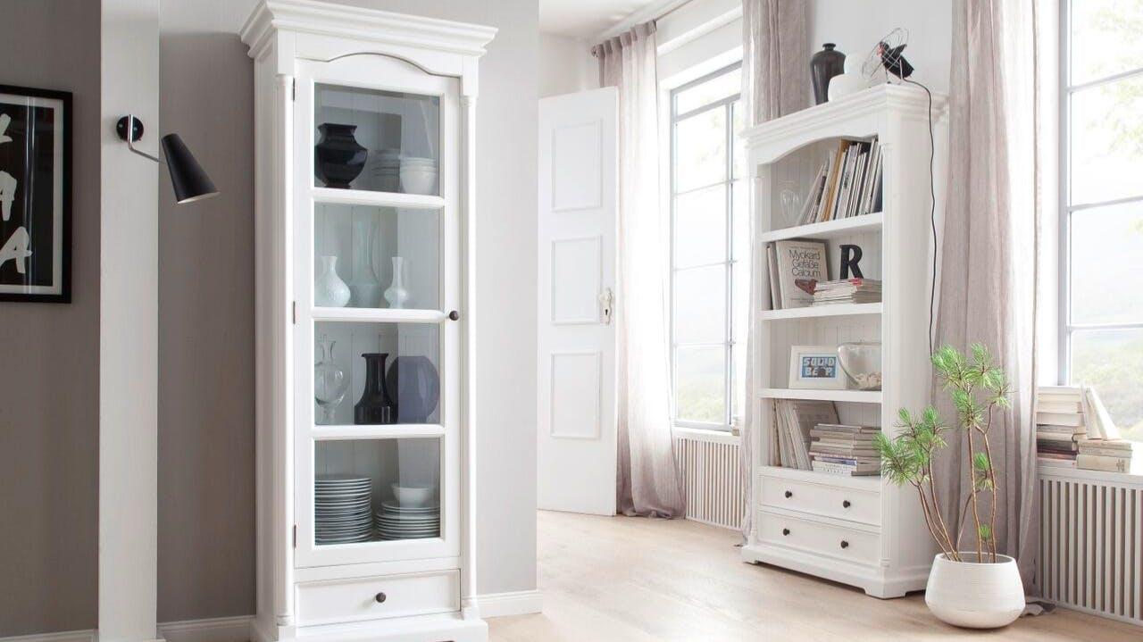 Colonnes de rangement : vitrées, bois...