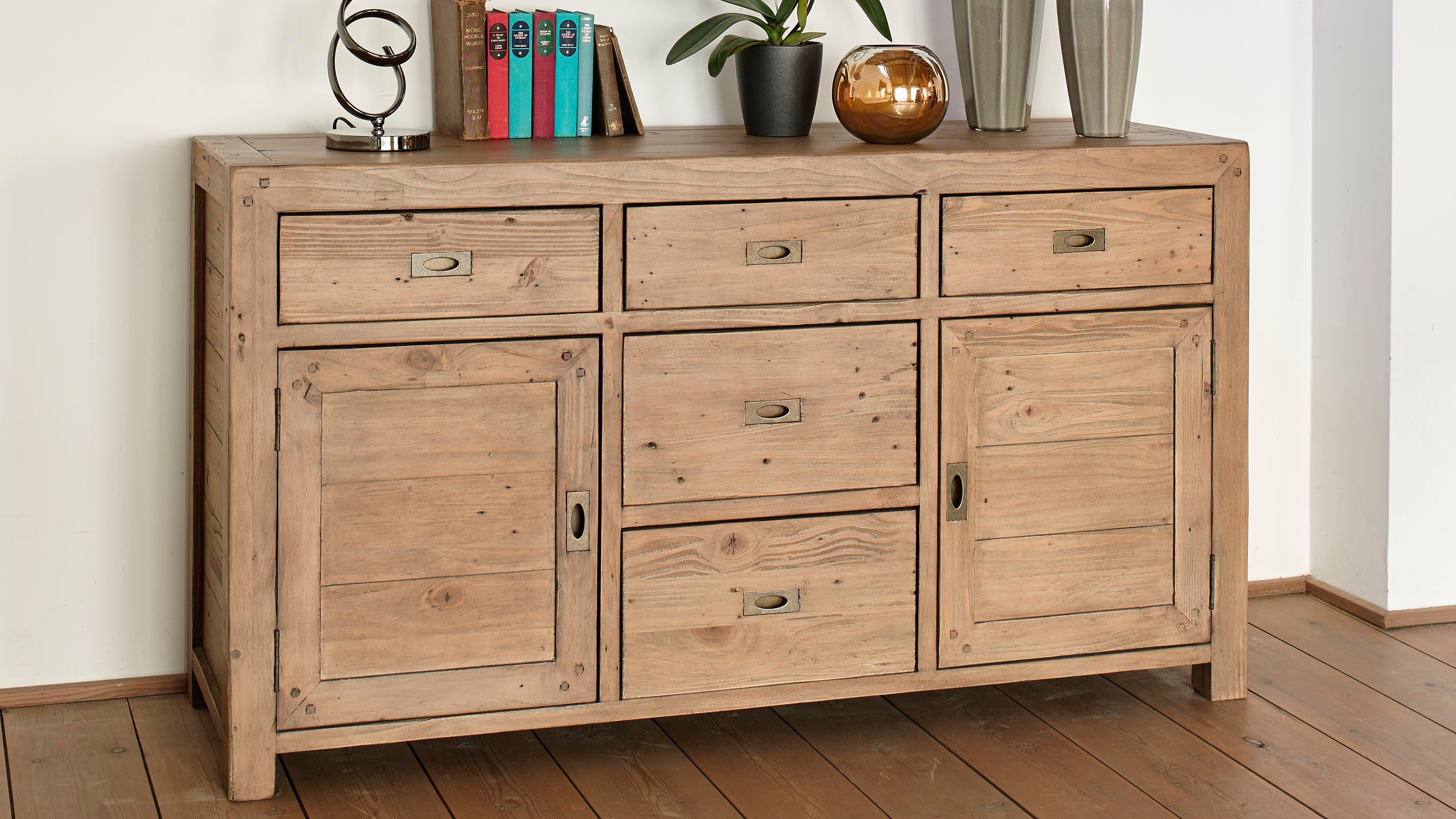 Buffets - Bahuts - Enfilades en bois recyclé : acacia, teck...