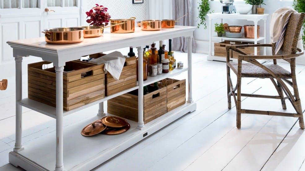 Rangement et décoration : panier, boîte...